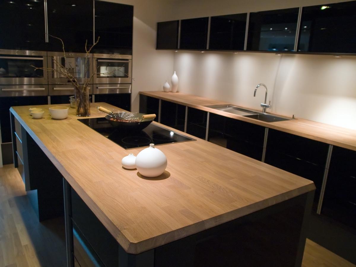 keukenblad hout