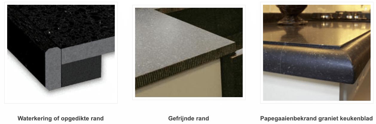 randen graniet werkblad